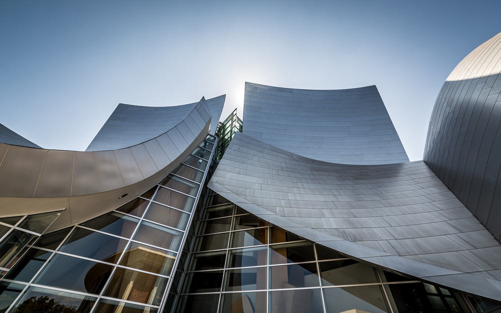 Disney Concert Hall, Downtown Los Angeles.