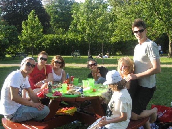 Grymmaste dagen i parken på Denice födelsedag