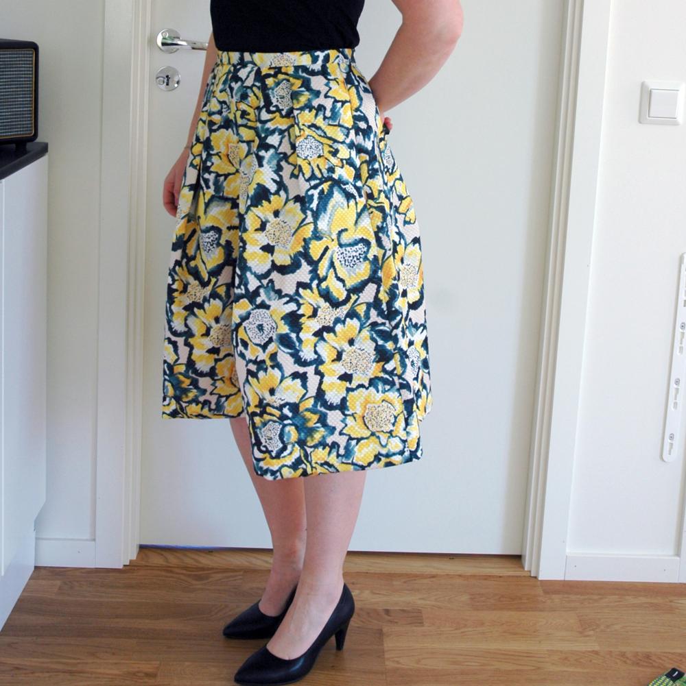 Den mest fantastiska kjolen! Den inte mest fantastiska bilden. (HM)