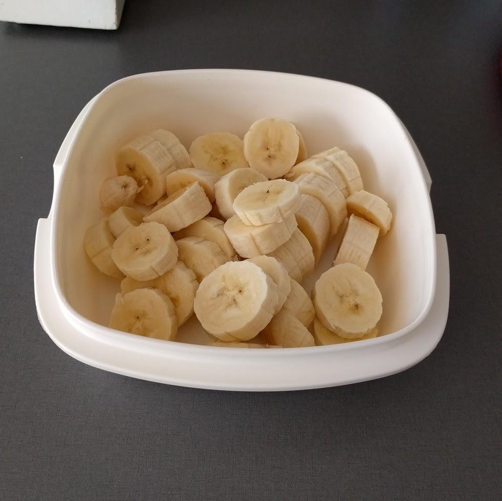 Skivade bananer ifall ni inte sett såna förut.