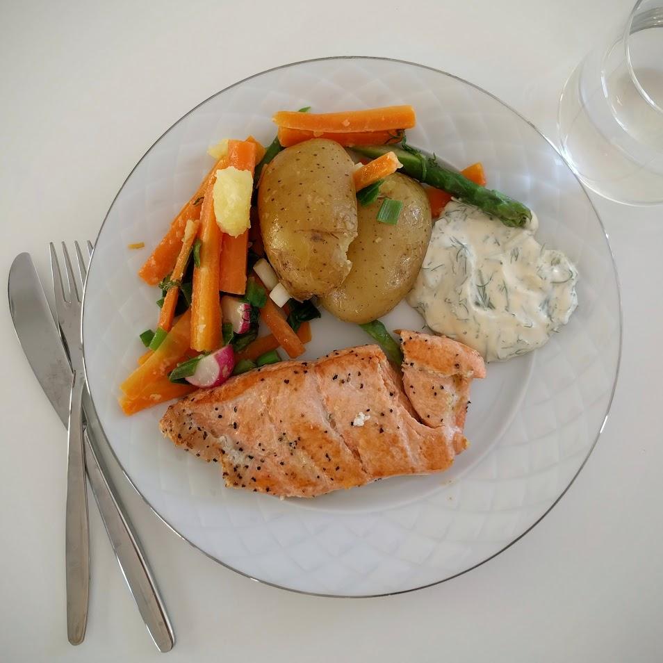 Ibland lagar man så god mat att man bara måste föreviga den. Så var fallet idag.