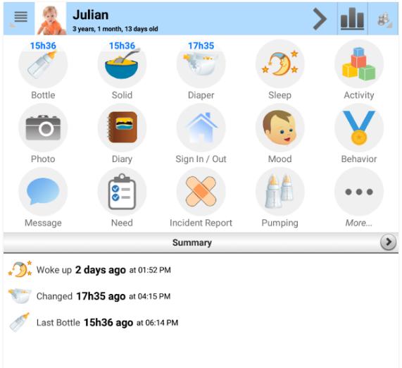 App för bebisar