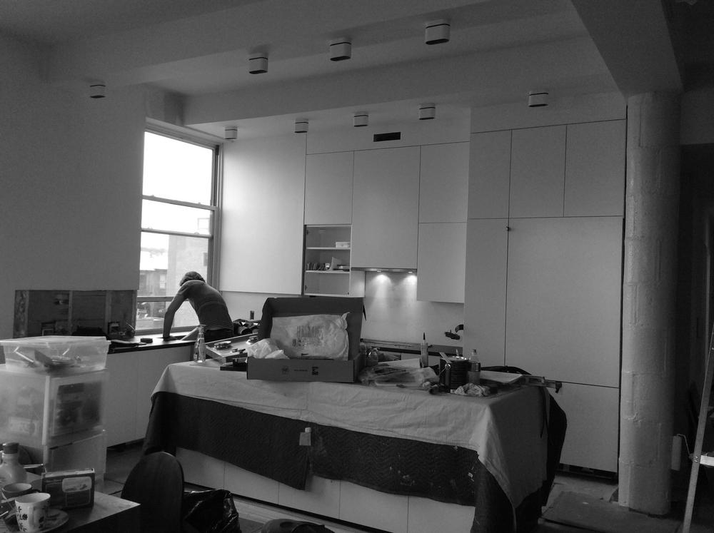 Park Slope Loft Construction Images