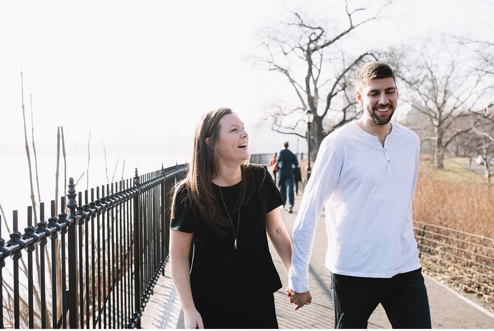 Central Park Engagement session, NYC