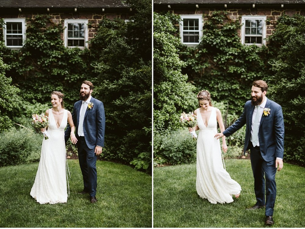 Willowwood Arboretum boho chic summer wedding portraits