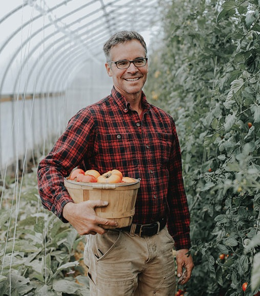 Jim Schultz operates Red Shirt Farm in Lanesboro