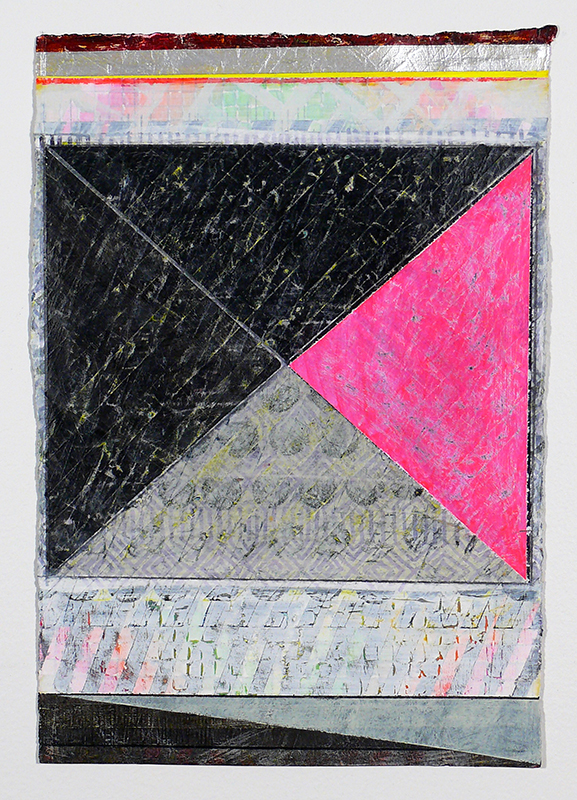 "N Y13#02, 11"" X 7.5"", mixed media on paper, 2013  available at Etsy"