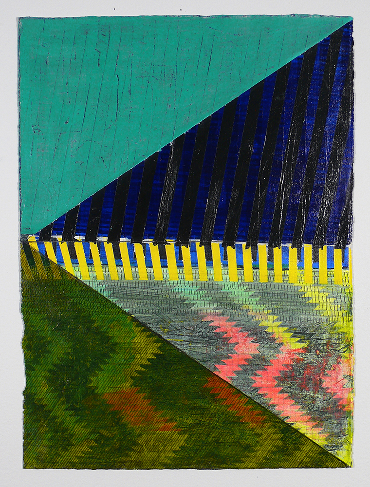 "NY13#05, 15"" X 11"", mixed media on paper, 2013  available at Etsy   limited edition prints & framing at Art.com   textiles at Spoonflower   other wares at Society6"