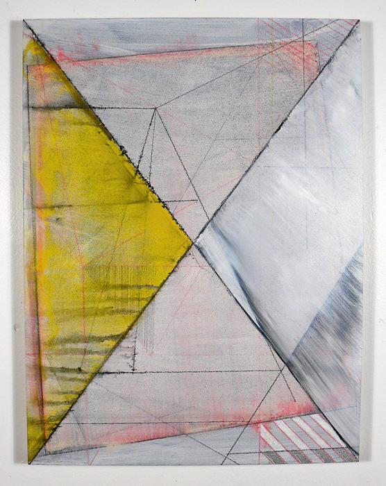 """NY11#39, 16"""" X 12"""", mixed media on panel, 2011, S OLD"""