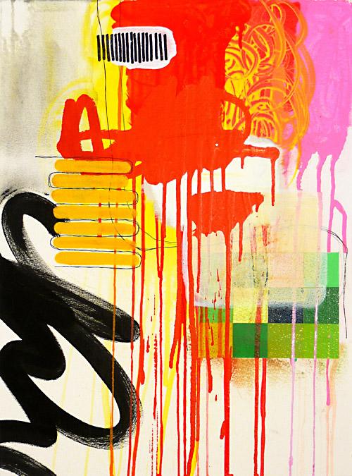 "NY10#13,21"" x 15"",mixed media on paper,2010  available at Etsy   print available at Art.com"