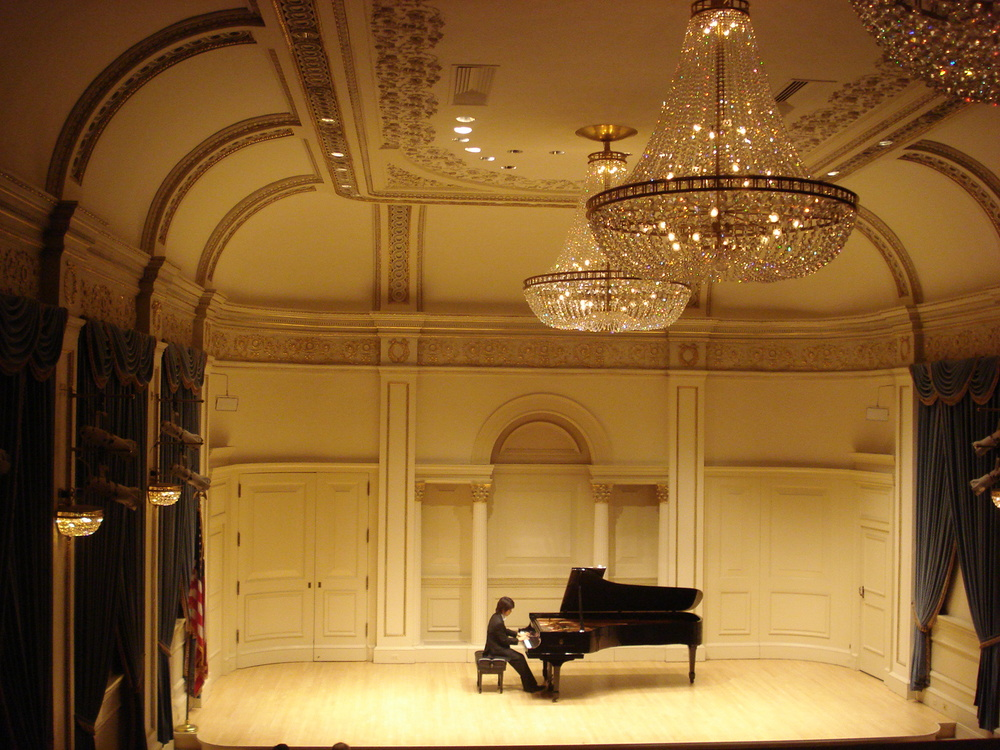 Carnegie Hall, Weill Recital Hall.