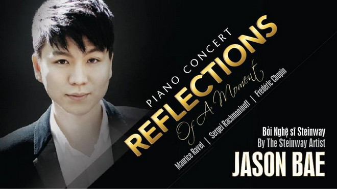 [Photo: Aiga Ozo]Chân dung nghệ sĩ Piano Jason Bae