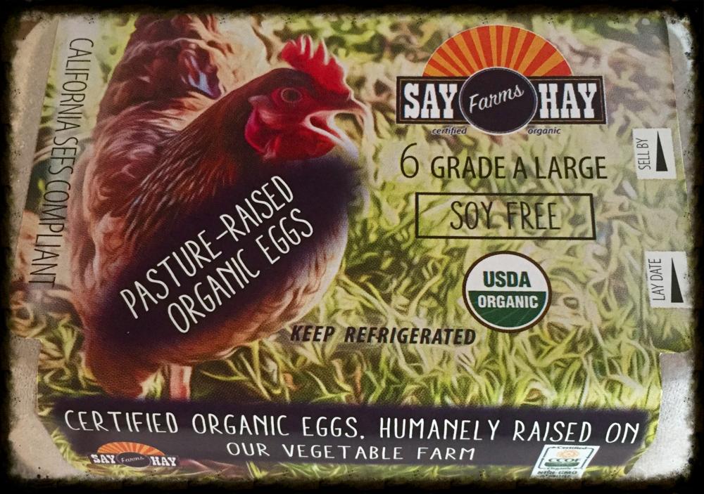 Say Hay Farms' new custom egg cartons!