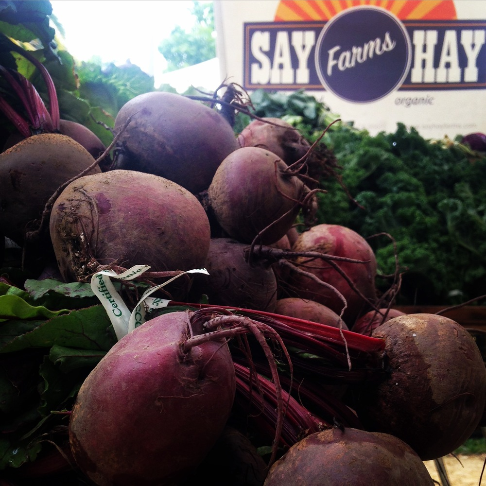 It's Beet Week at markets and in your box.  Enjoy the last of our spring beets.