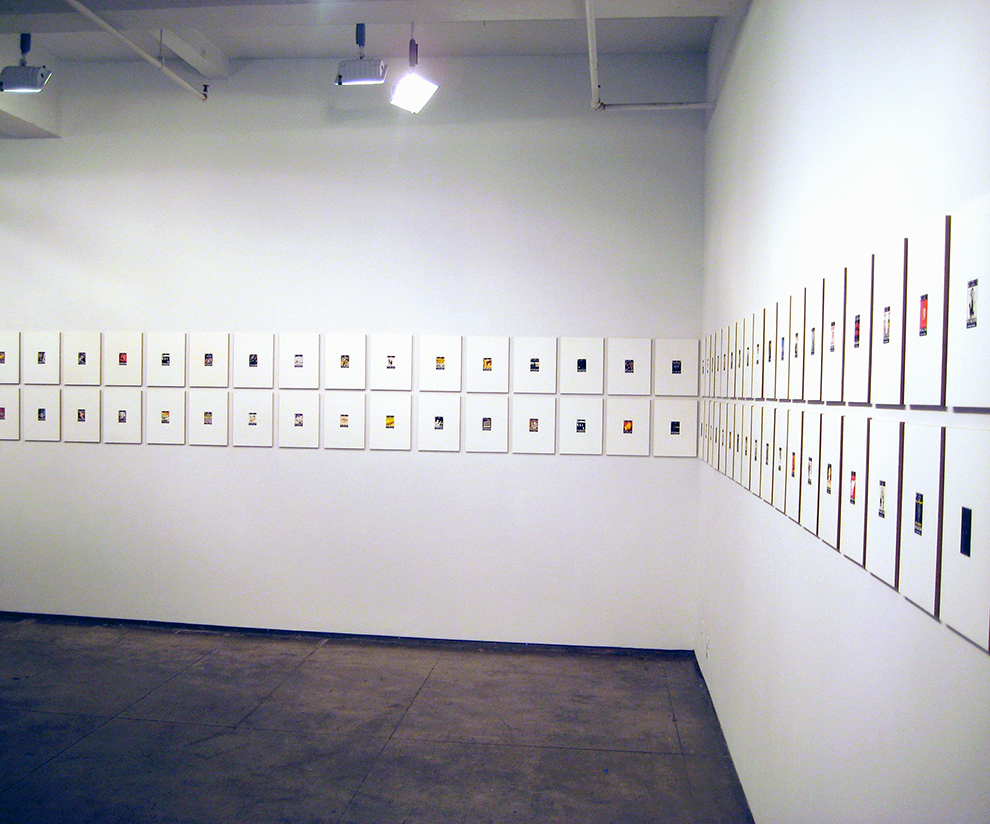 Installation view selection- 4 at Josee Bienvenu Gallery, New York, 2012