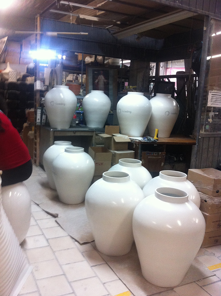 Factory Cam, ceramicasuro
