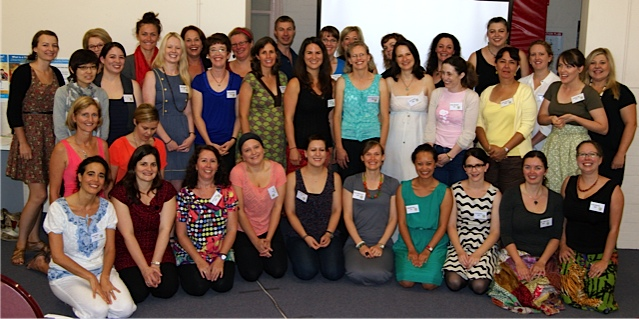The Sing & Grow Team at Training Day 2013