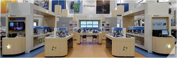 "Microsoft this week has talked openly about opening Retail Stores and even hired a seasoned Retail exec to lead the effort. From  WSJ.com :        Microsoft Corp. said it hired a former Wal-Mart Stores Inc. executive to help the company open its own retail stores, a strategy shift that borrows from the playbook of rival Apple Inc.      The Redmond, Wash., company said it hired David Porter, most recently the head of world-wide product distribution at DreamWorks Animation SKG, as corporate vice president of retail stores for Microsoft.      In a statement, Microsoft said the first priority of Mr. Porter, who is also a 25-year veteran of Wal-Mart, will be to define where to place the Microsoft stores and when to open them. A Microsoft spokesman said the company's current plans are for a ""small number"" of stores.      Microsoft has been quick to state the purpose of these stores which is to build brand and connect with consumers directly unlike Apple which opened stores more for Distribution (although I think Apple stores drive brand experience the best).  Microsoft Pri0 blog  had Robbie Bach, head of the Microsoft Entertainment and Devices Division stating the same:      Q:  Can you give us your thoughts on moving into retail? You guys have a lot of important partners, especially who resell products from your [Entertainment and Devices Division]...       Bach:  ""The way you have to put this in context is you have to think of it as just a natural evolution of what's going on in the market and it's a natural evolution of what's going on as we develop our brand.       ""And I don't think -- I saw some of the commentary that this was designed to be the same as Apple or whatever. You should think about it, I think, quite differently.       ""Apple's approach was about distribution. People forget that when they entered their stores [in 2001], this was quite a while ago, they didn't have distribution for Macintoshes, so they created their own distribution.       ""We have plenty of distribution. These stores for us are about building our connection to customers, about building our brand presence and about reaching out and understanding what works and what improves the selling experience.       ""So Apple you would think of as a volume distribution play. You should think of ours as much more of a brand and customer relationship investment more than anything else.""       My take, this is great news coming from Microsoft. Microsoft few know have a very strong Retail Industry Practice where they have been working with various partners and have just launched the  Retail Experience Center  which blends, Microsoft's merchandising strategies as a consumer goods company and its solution capabilities as a technology provider for the retail industry.         This knowledge and a proof of concept store means a lot for the Microsoft Retail initiative. Think about the possibilities of Surface tables, Windows 7 with it's Multi-touch features on big LCDs and Interactive Shopping Carts. Think about Store assistants telling you product features by keeping the product on the table which reads the tags and builds a rich interactive experience on the table. The only thing Microsoft should be wary of and will need is Execution and I am sure Microsoft would be working on that. They would learn from Apple Stores success and apply their own Retail Practice knowledge to make this a killer retail store, something we have so far only dreamt of and seen as Proof of Concepts only."