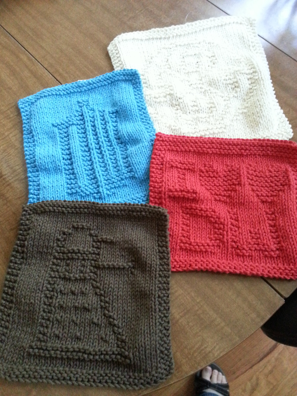 Doctor Who Washcloths