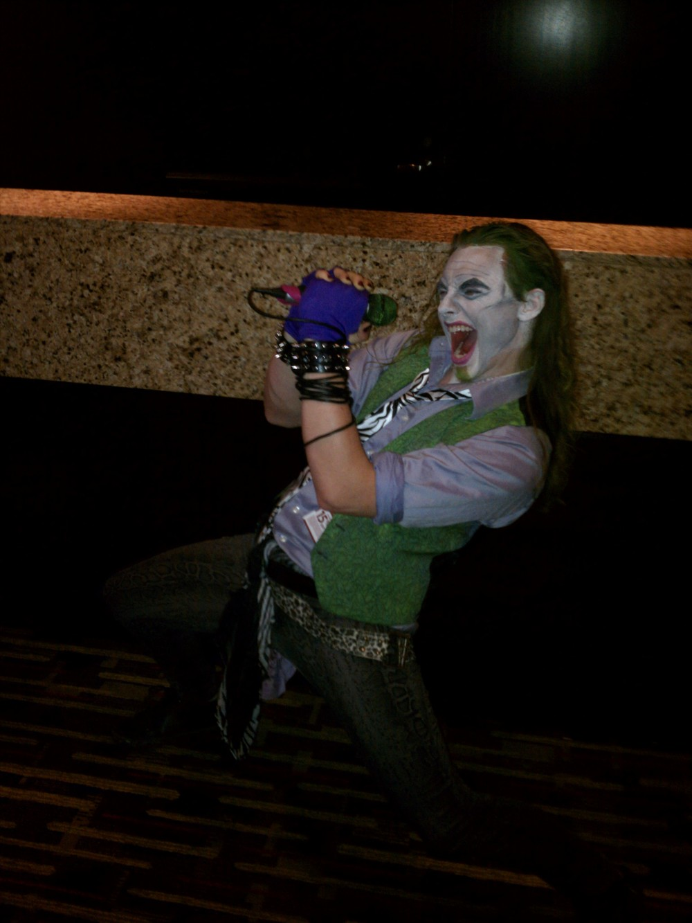 Joker rockin' out