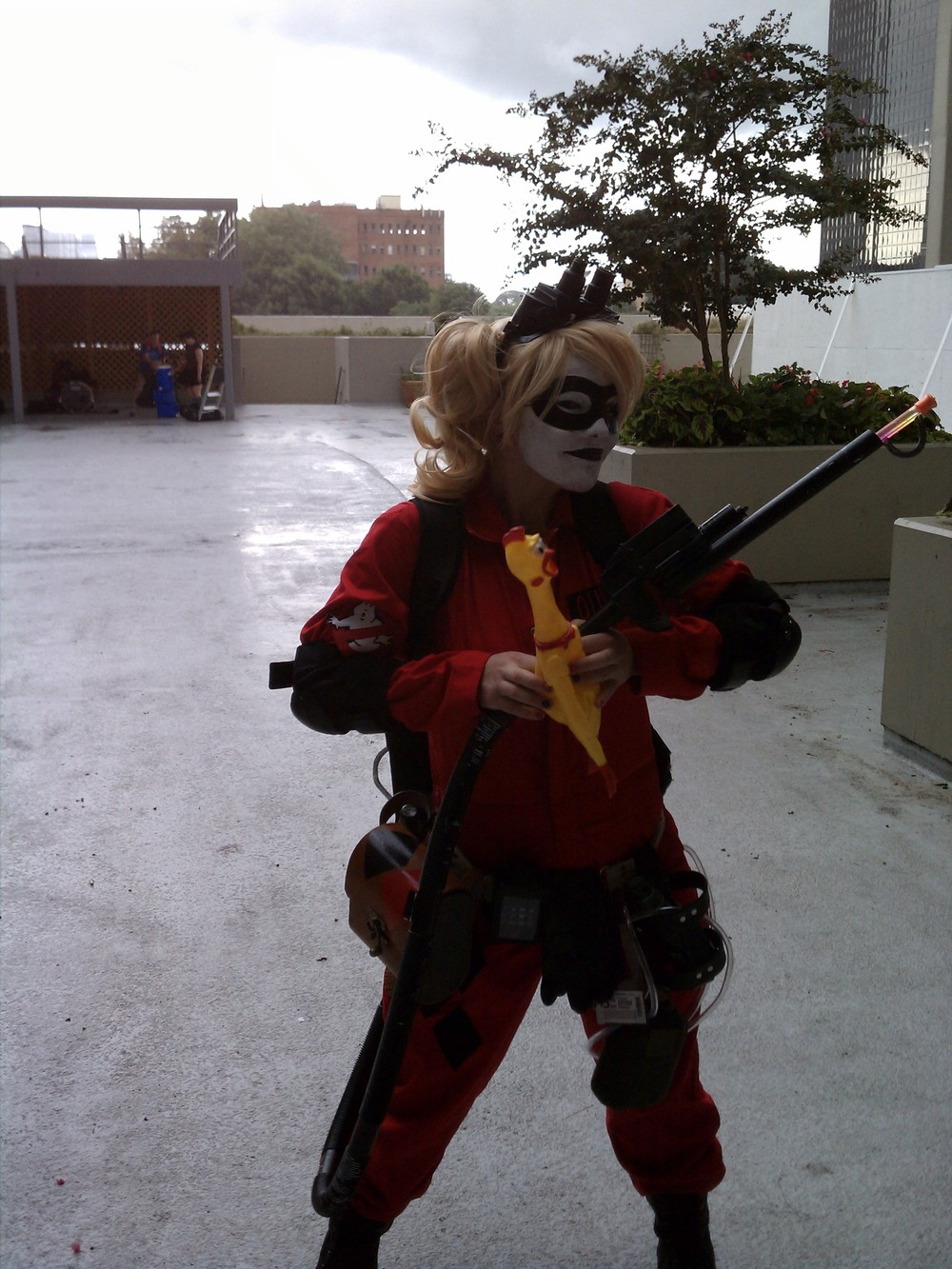 Harley Quinn Ghostbuster