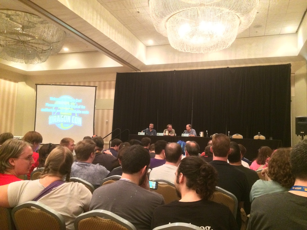 Game design panel, with Rob!
