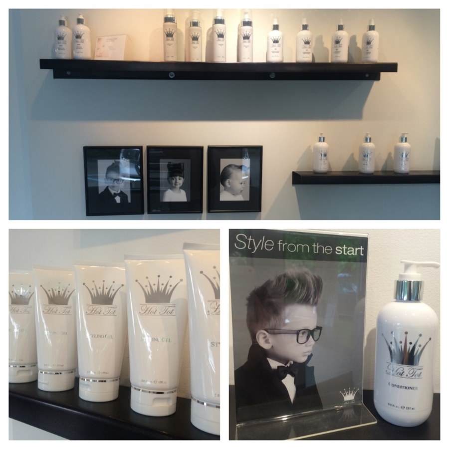 Hot Tot Products at Redhead Salon Boutique