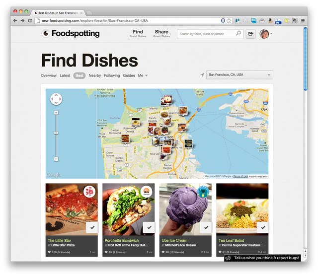 Easiest, most visual way yet to discover great food anywhere.    via  fastcompany.com