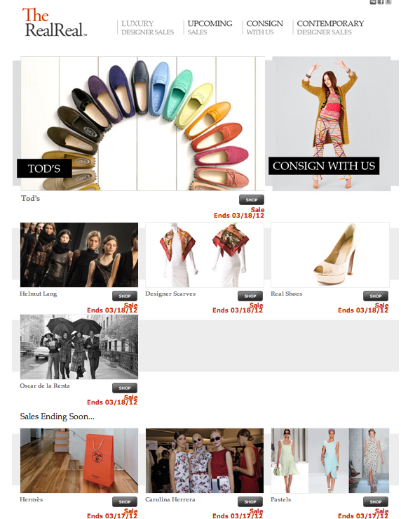 Site Grows Rapidly with Doubling Membership in Q1 2012 via fashinvest.com