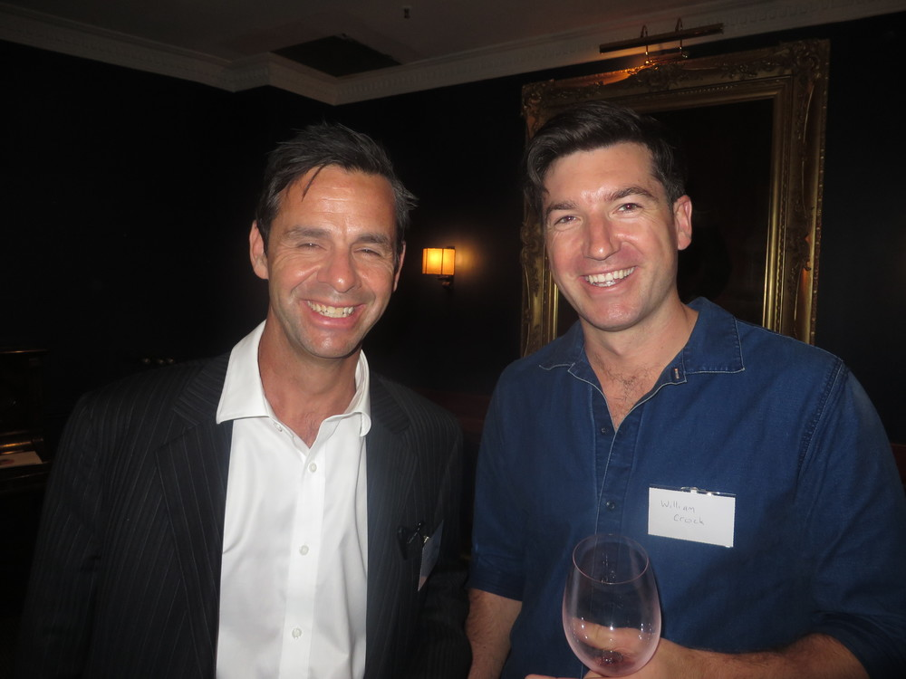 City2Surf runner MIchael Bloomfield with Retreat Leader William Crook