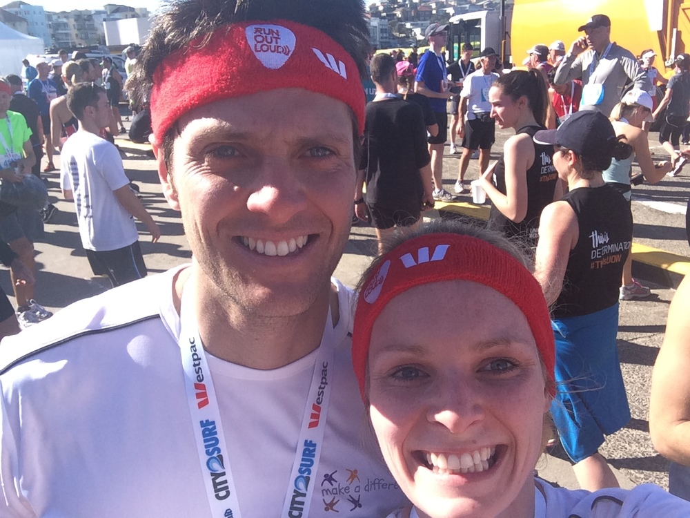 City2Surf 2015 - Mairead and Andrew.JPG