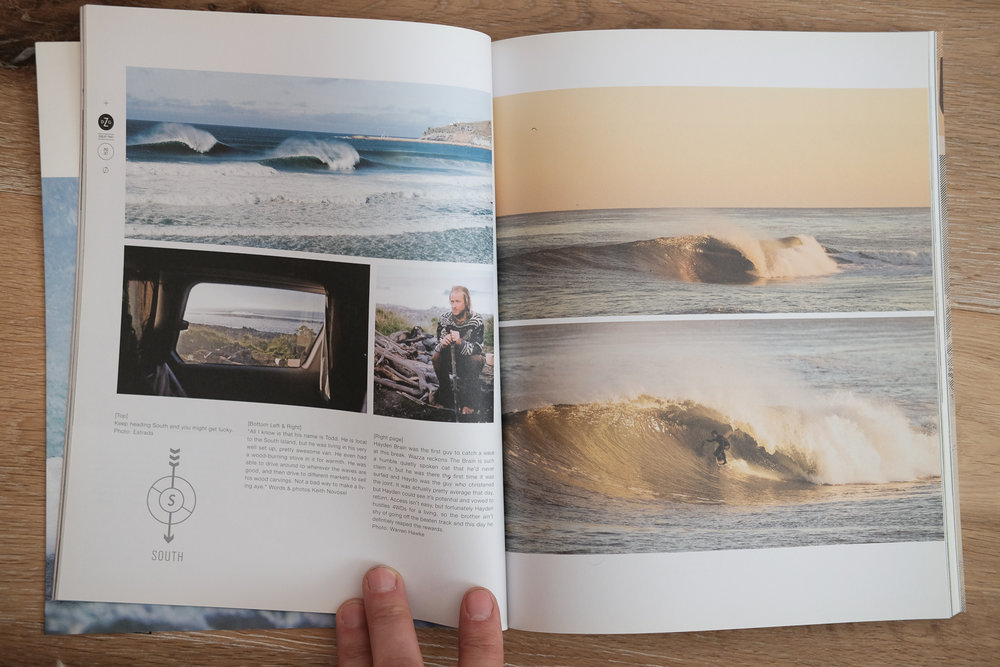 Damaged Goods Magazine: Left page, bottom images.