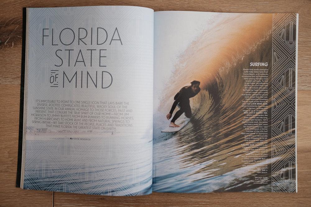 Flamingo Magazine, FL. Surfer: Evan Thompson