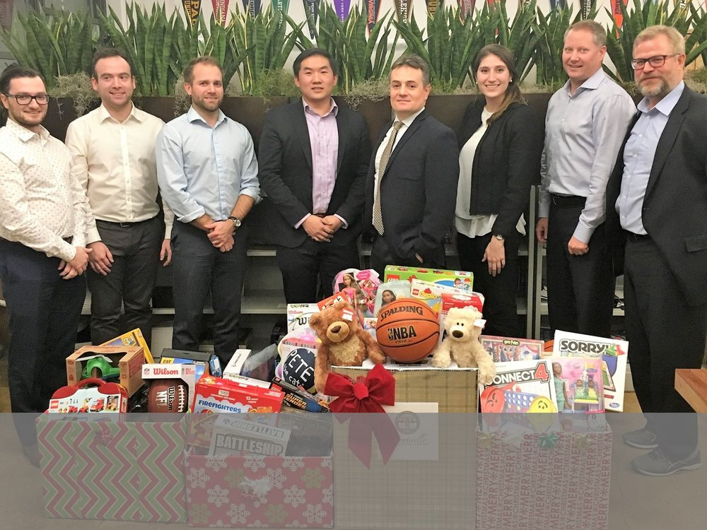 Monticello Participates in Holiday Toy Drive