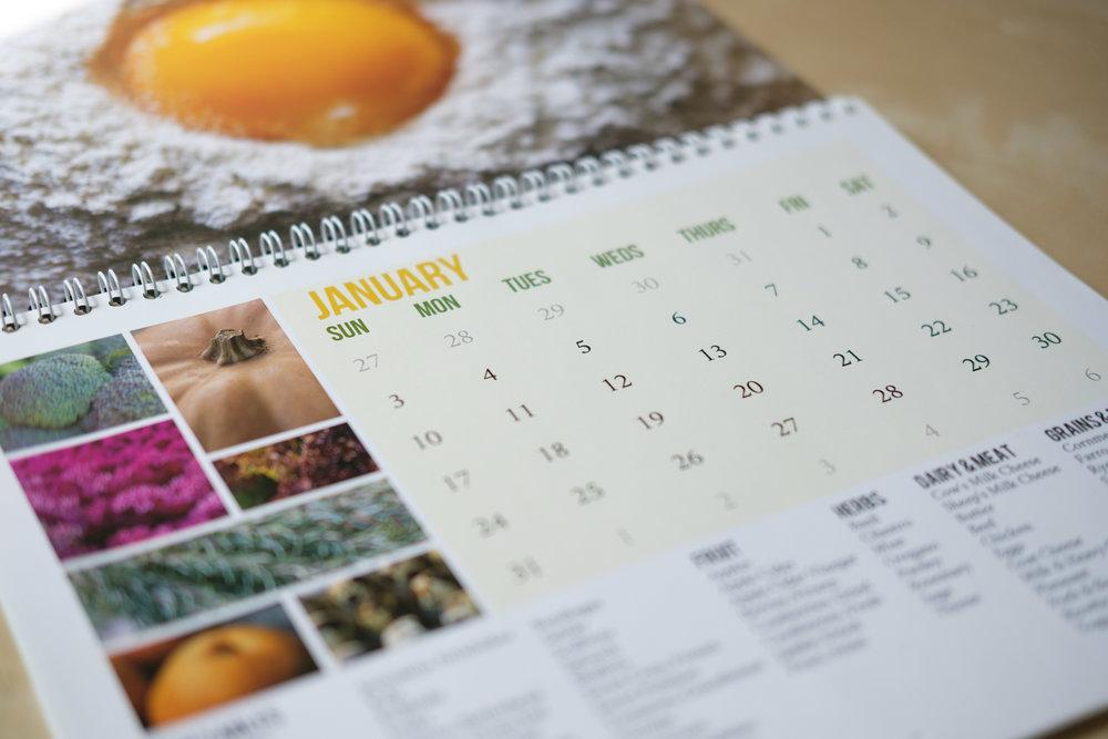 Zone 7 2016 Seasonal Produce Calendar