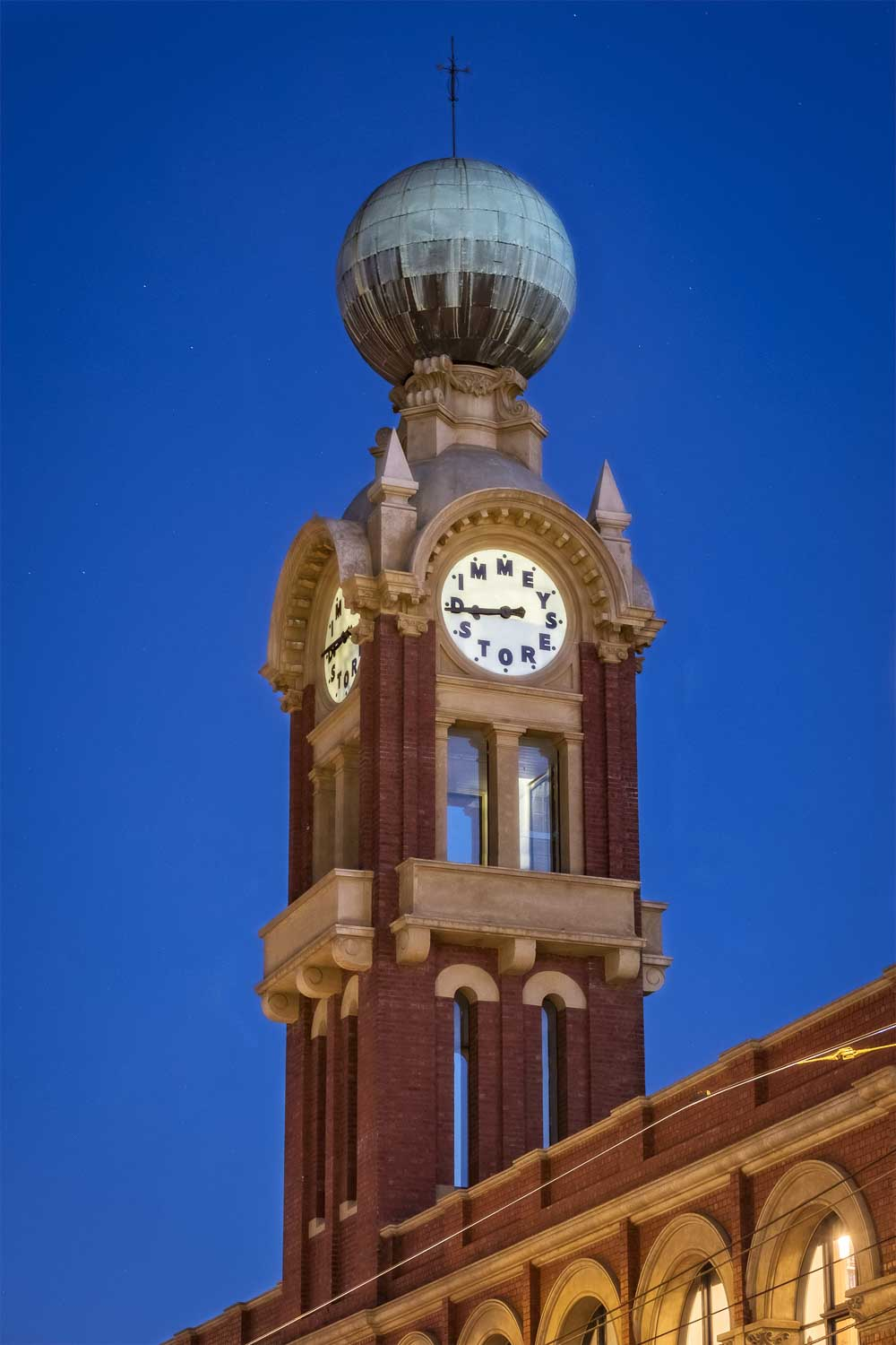 Dimmeys clock tower, Richmond