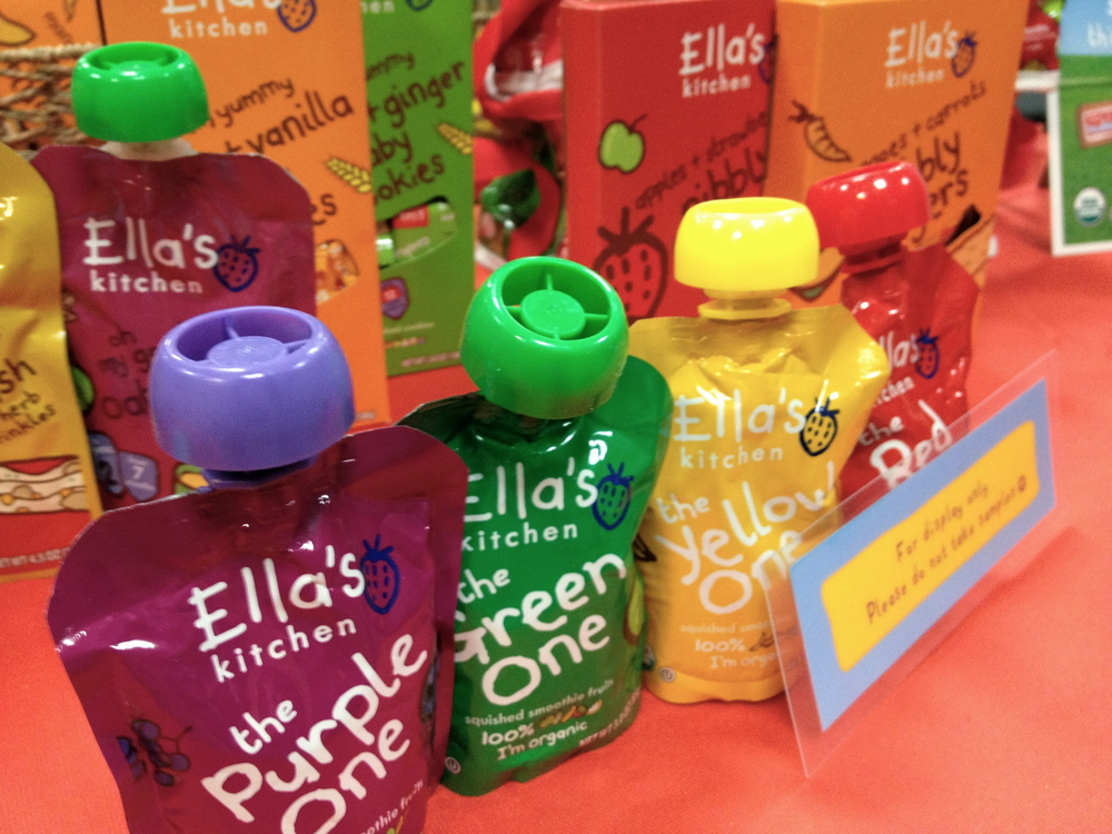 Ella's Kitchen  trick? Stick the pouches in the freezer for older kids to create smoothies!