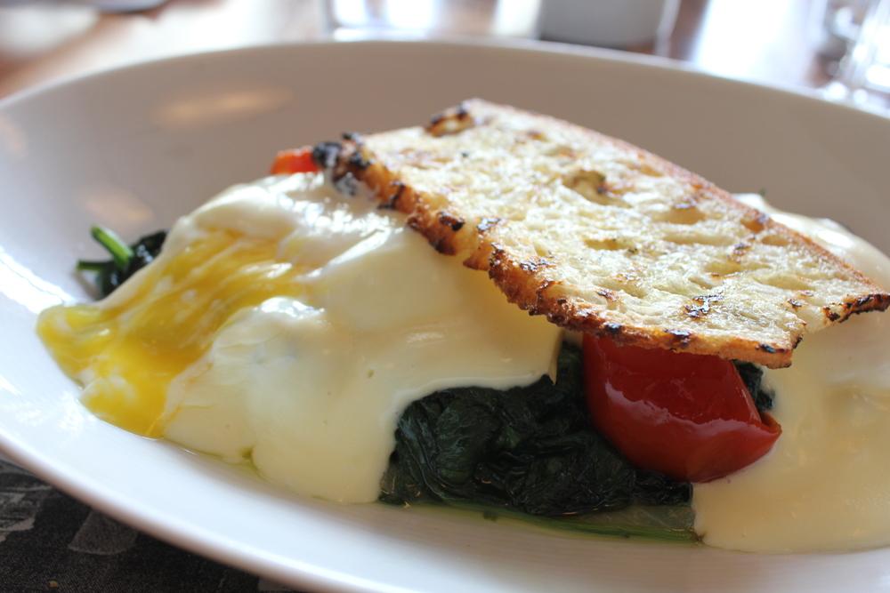 Eggs Florentine at MKT