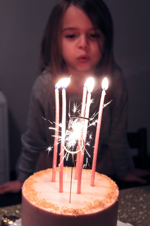 Prettiest candle EVER! Sparkler five!