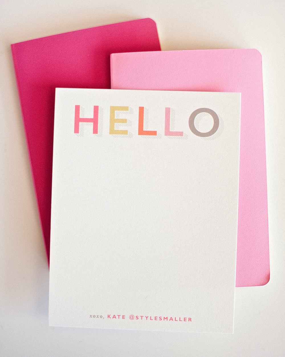 Hello Notecards by Minted