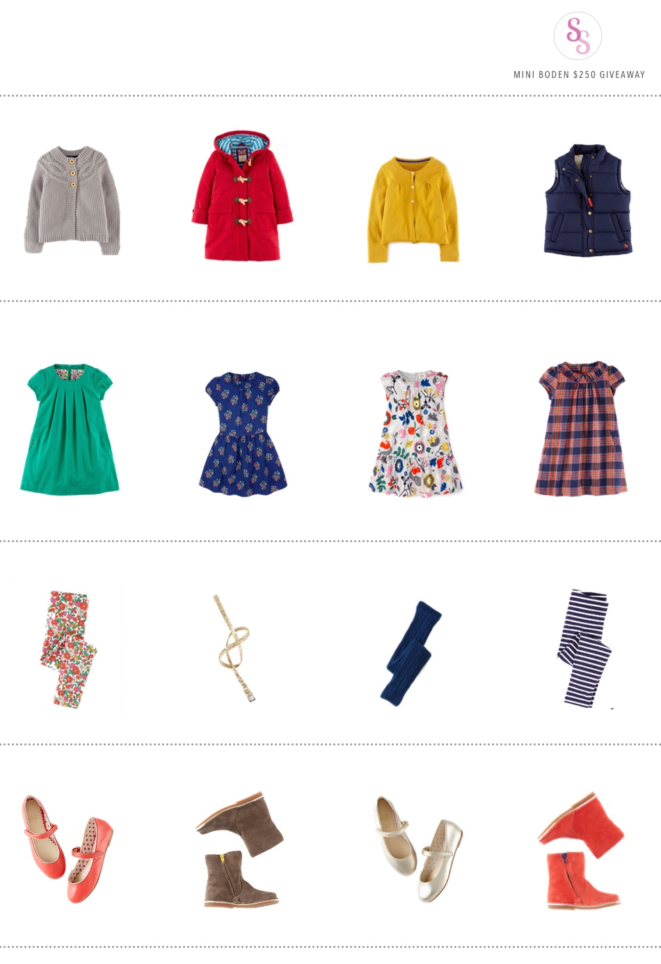 StyleSmaller + Mini Boden #giveaway