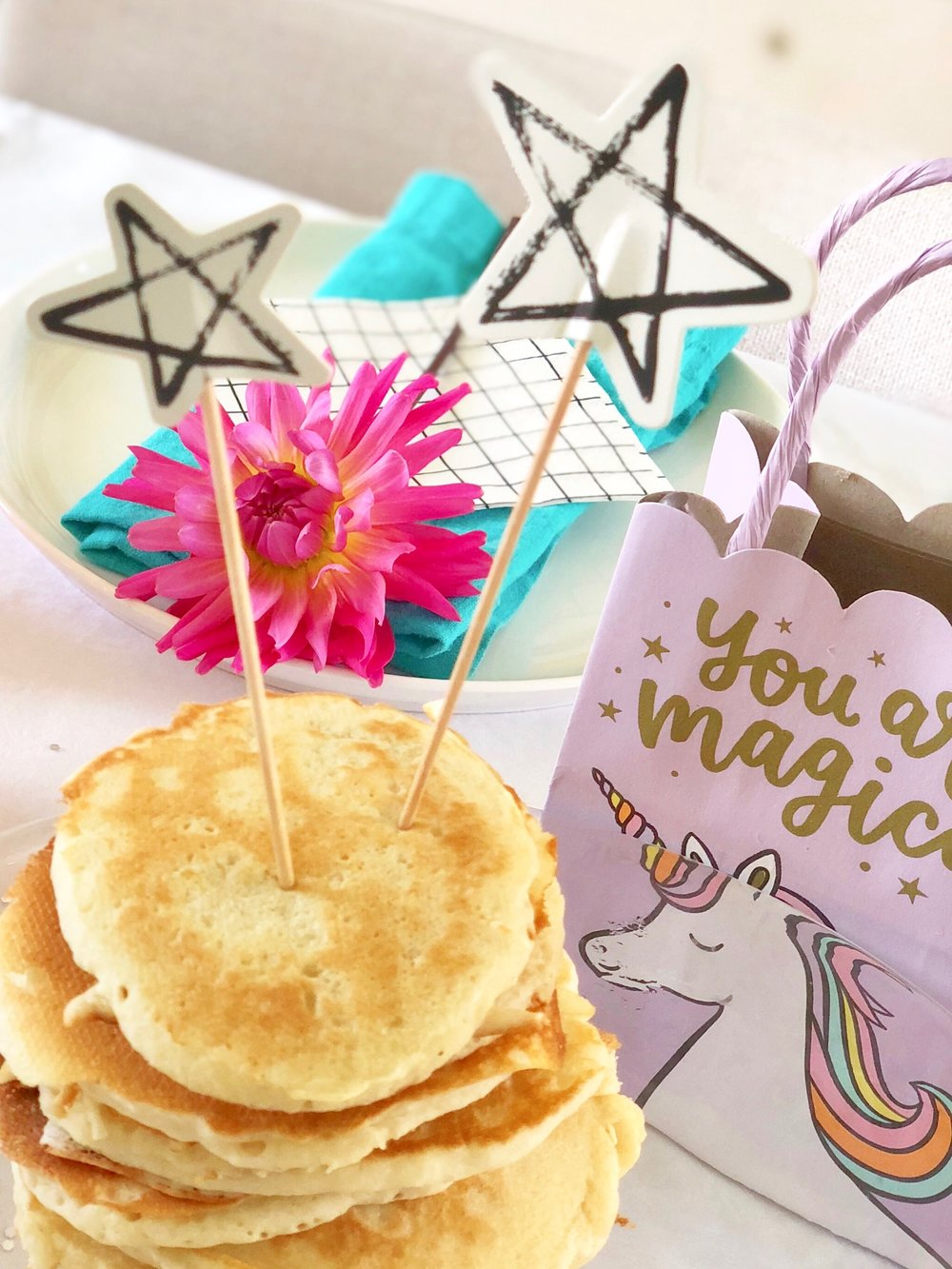 StyleSmaller Pancake Birthday Party