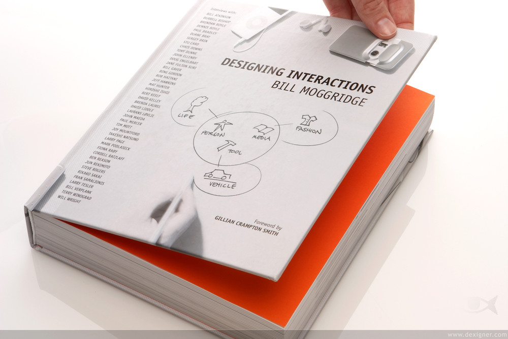 Cover -  Designing Interactions  by Bill Moggridge