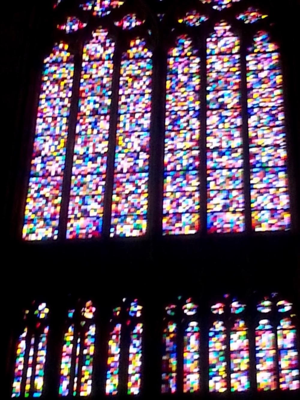 Gerhard Richter im Kölner Dom