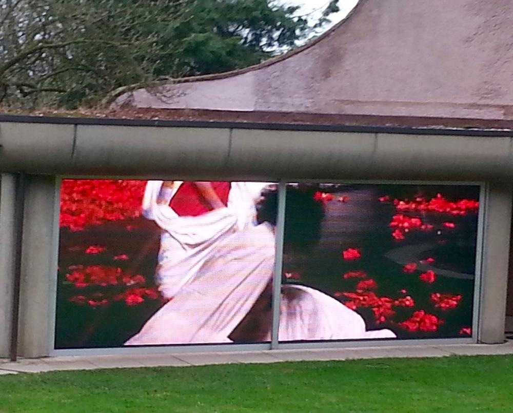 Pina Bausch im Skulpturenpark Wuppertal