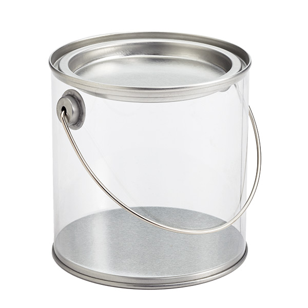 Clear Paint Can