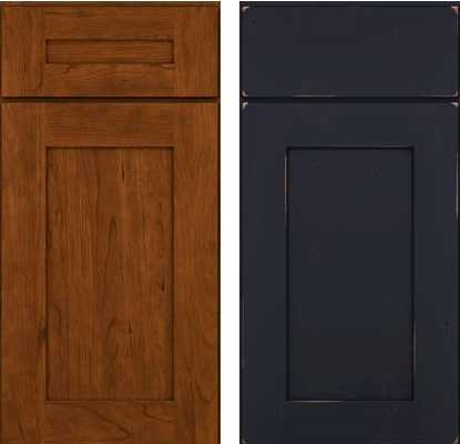 Cherry Black Kraftmaid Cabinet