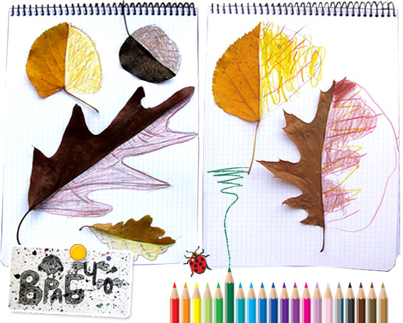 Kid Art Leaves