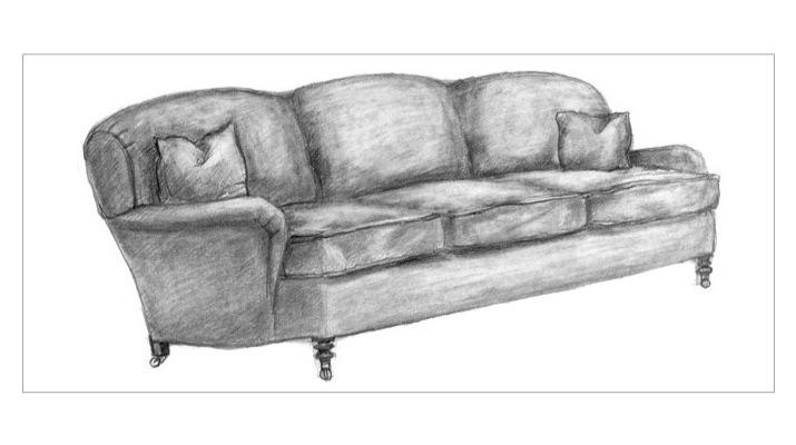 Design 101 sofa construction regan billingsley interiors for Sofa design sketch