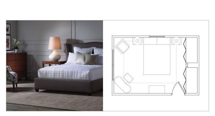 DESIGN 101: FURNITURE LAYOUTS - MASTER BEDROOM! — Regan Billingsley ...